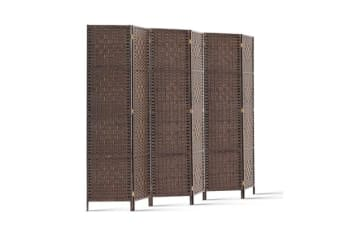 Artiss 6 Panel Room Divider (Brown)
