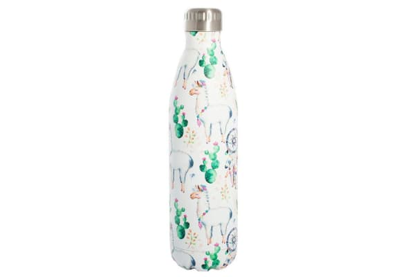 Avanti Fluid 750ml Hot Cold Water Vacuum Thermo Drink Bottle MB Llama Dreaming