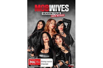 MOB WIVES SEASON 4 + BIG ANG - Series Rare- Aus Stock DVD NEW
