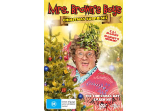 Mrs Browns Boys Christmas Surprises DVD Region 4