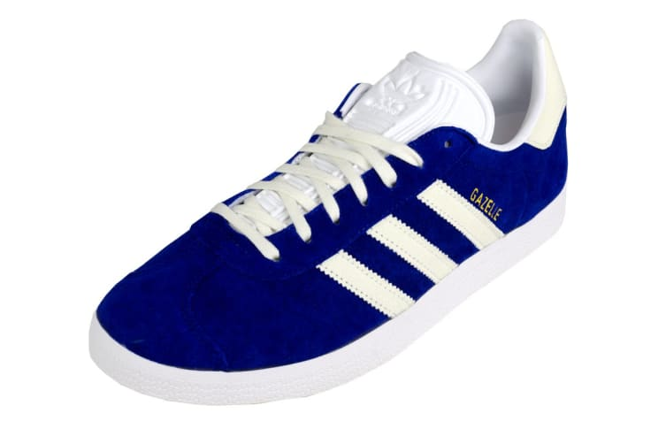 Adidas Originals Men's Gazelle Shoes (Mystery Ink/White, Size 8.5)