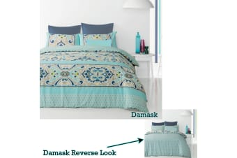 Reversible Quilt Cover Set Damask by Apartmento