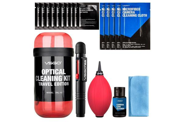 VSGO DKL-15 Travel Edition DSL Camera Lens Cleaning Kits (Red) Lens Cleaner
