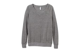 Alternative Apparel Womens/Ladies Eco-Jersey Slouchy Pullover (Eco Grey)