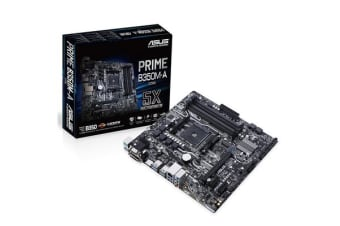 ASUS PRIME B350M-A mATX For AMD Ryzen Socket AM4