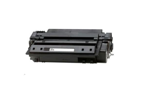 Generic 51X HP Compatible High Capacity Toner - Black