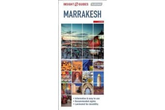 Insight Guides Flexi Map Marrakesh (Insight Maps)