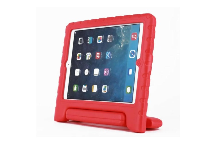 """FOR APPLE iPad Pro 10.5"""" 2017 KIDS HEAVY DUTY CASE SHELL COVER SHOCKPROOF-Red"""