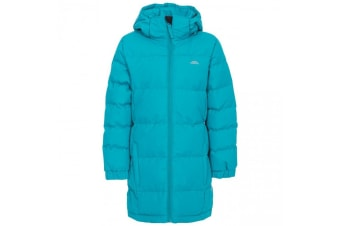 Trespass Childrens Girls Tiffy Padded Jacket (Marine) (7/8 Years)