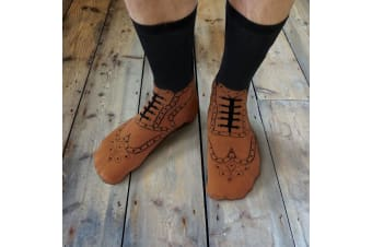 Ginger Fox - Brogue Socks
