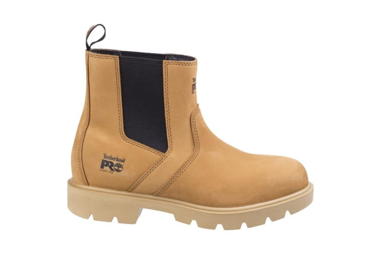 Timberland Pro Mens Sawhorse Dealer Slip On Safety Leather Boots (Wheat) (9 UK)