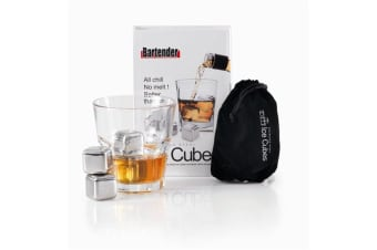 D.Line Bartender Stainless Steel Ice Cubes Set 4
