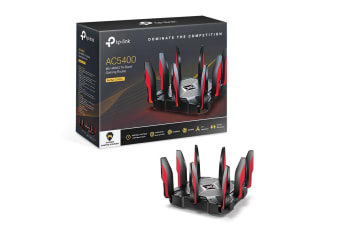 TP-Link AC5400 5400Mbps Wireless Tri-Band MU-MIMO Gaming Router - Archer C5400X