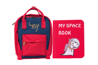 My First Book 3 My Space Book Red Childrens Books Kids Toys Book Gift Idea