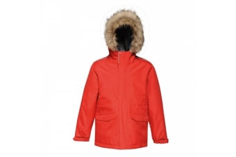Regatta Childrens Cadet Parka Jacket (Classic Red) (32)