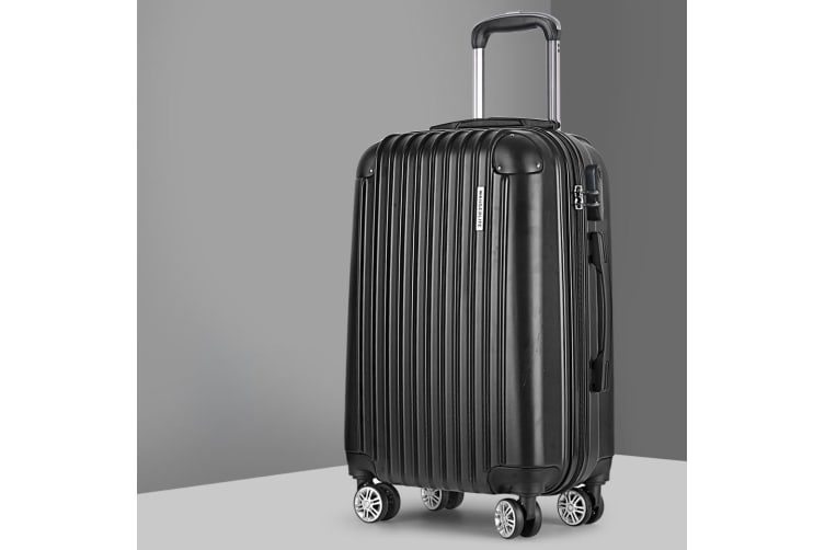 """20"""" Luggage Sets Suitcase Trolley Travel Hard Case Lightweight"""