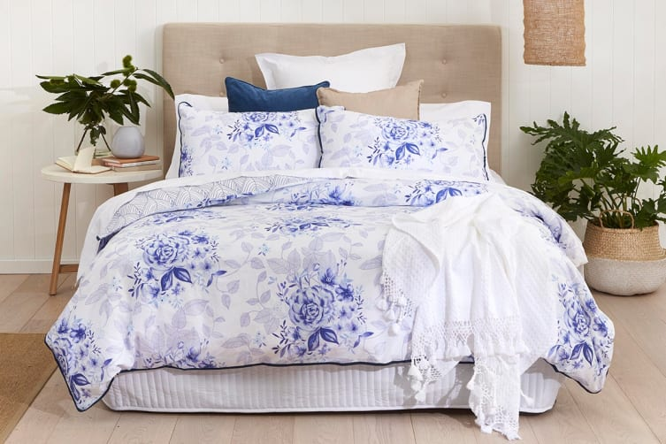Onkaparinga Chelsea Quilt Cover Set (Queen)