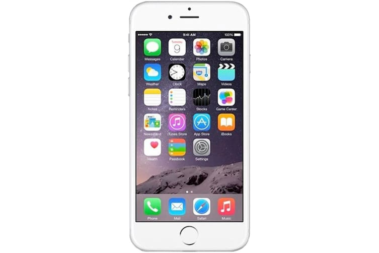 Apple iPhone 6 A1586 64GB Silver (Great Condition) AU Model