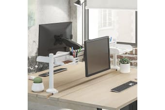 Brateck Saltwall Gas Spring Monitor Arm, Effortless Monitor Height Adjustment