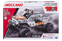 Meccano Engineering 10-in-1 Race Truck Model Set
