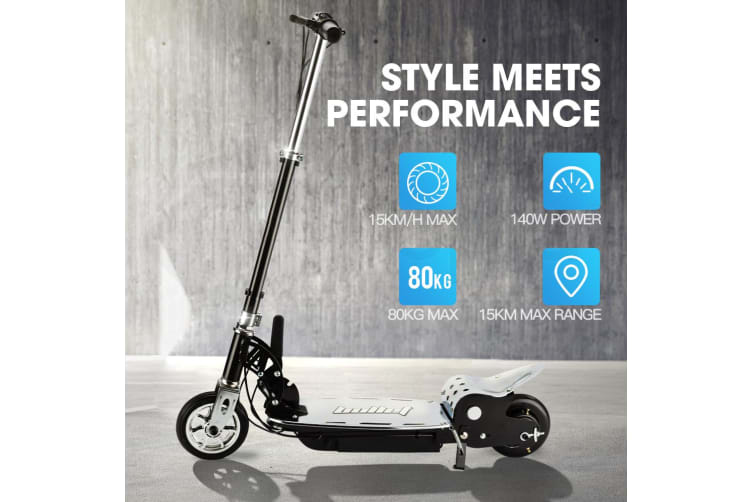 BULLET TRZ Electric Scooter 140W Adjustable and Foldable for both Adults / Kids