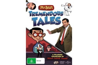 Mr Bean Tremendous Tales DVD Region 4