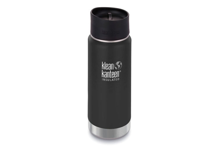 NEW KLEAN KANTEEN INSULATED WIDE 16oz 473ml SHALE BLACK BPA Free Water Bottle SAVE