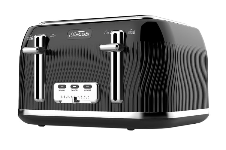 Sunbeam Coastal Collection Toaster 4 Slice - Black Pearl (TA2540KP)