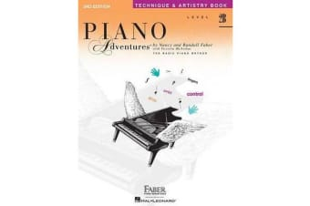 Piano Adventures - Level 2B - Technique And Artistry Book (2nd Edition)
