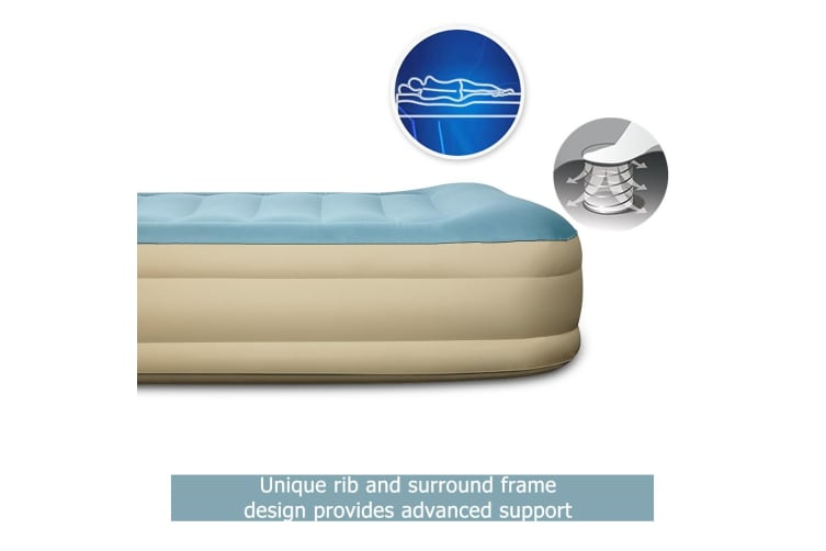Bestway Queen Size Airbed with Built-in pump