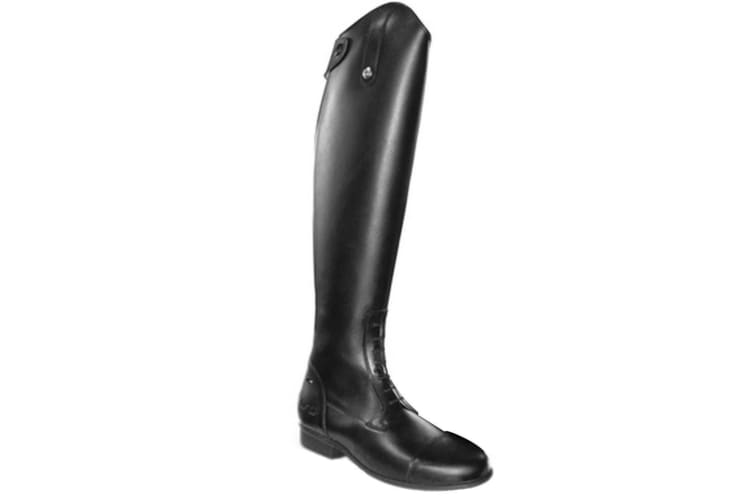 Mark Todd Adults Standard Leather Long Field Boots (Black) (4 UK (Wide))