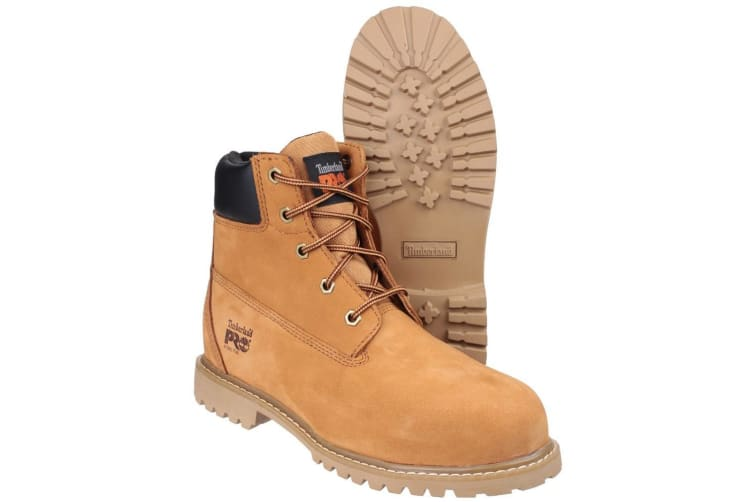 Timberland Pro Womens/Ladies Waterville Plain Design Safety Boots (Wheat) (7 UK)