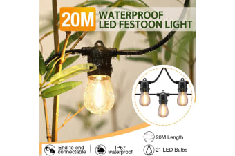 Waterproof LED Outdoor String Lights-20m