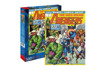 500pc Aquarius Marvel Avengers 48cm Jigsaw Puzzle Educational Kids/Children 14y+