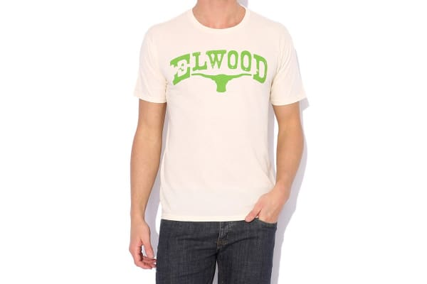 Elwood Men's Branded Tee (Natural, Small)