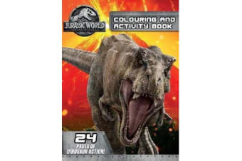 Jurassic World - Fallen Kingdom Colouring and Activity Book