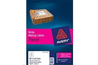 AVERY INKJET LABELJ8165-50 50 SHEETS