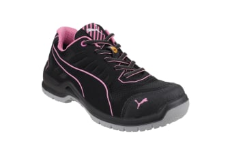 Puma Safety Womens/Ladies Lightweight Fuse TC Safety Trainers (Black)