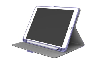 Cygnett TekView Slimline Case with Apple Pencil Holder for iPad 9.7'' - Purple (CY2167TEKVI)