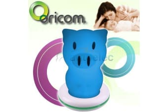 ORICOM LED BABY NIGHT LIGHT LAMP NITE LITE ROOM NEW VISUAL PIG RECHARGABLE