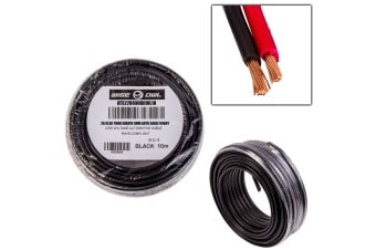2 CORE 4MM x 10 METRES CABLE WIRE WIRING AUTOMOTIVE TRAILER CARAVAN TRUCK OWL