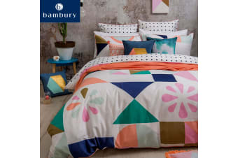 Memphis Cotton Quilt Cover Set by Bambury