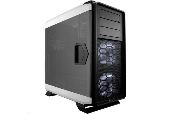 Corsair 760T w/Windowed Door White Full Tower Case. Supports Mini-ITX, MicroATX, ATX, E-ATX, XL-ATX