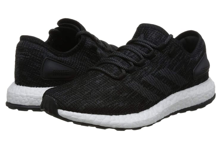 Adidas Men's PureBOOST Running Shoe (Core Black/Grey, Size 8 UK)