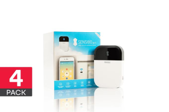 Sensibo Sky - Smart Air Conditioner WiFi Controller (White, 4 Pack)