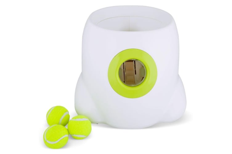 Hyper Fetch Dog Ball Thrower - All For Paws Pet Interactive Toy Mini Ball Size