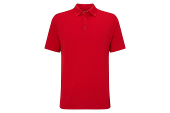 Callaway Mens Hex Opti Stretch Polo (Tango Red) (M)