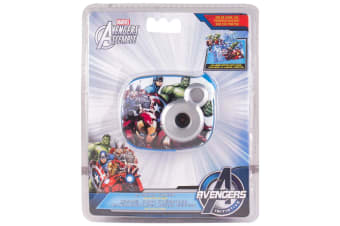 Marvel Avengers Digital Camera 2.1MP Editing Software Kids/Children 100 Photos