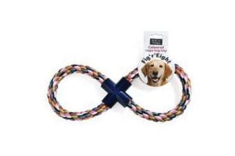 Ruff N Tumble Fig R Eight Rope Dog Toy (May Vary) (One Size)