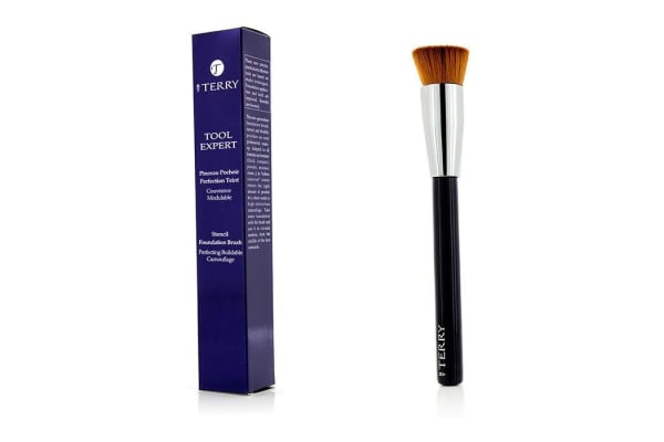 By Terry Too Expert Stencil Foundation Brush (-)